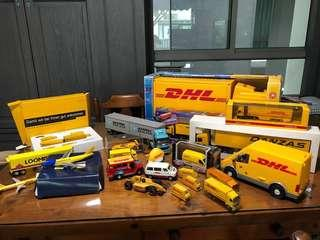 🚚 DHL Trucks , container , Plane collection