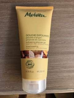 Melvita Exfoliating shower gel