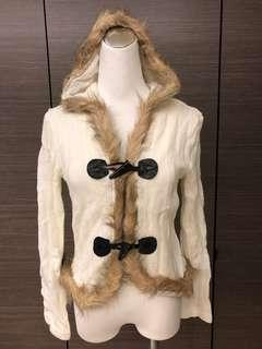 🚚 全新 針織牛角扣小外套