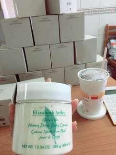 伊莉莎白雅頓 綠茶蜜滴舒體霜(身體乳)400ml $500