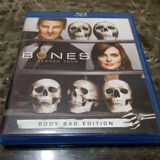 Pre-loved Original Bones Complete Season 4 to 6 Blu ray and DVD