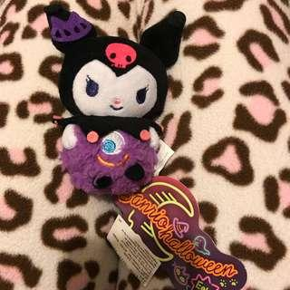 Sanrio Kuromi Halloween soft toy 全新 限定