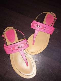 Coach open sandals