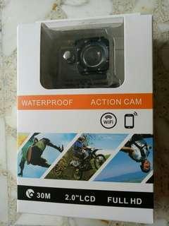 🚚 Waterproof action camera