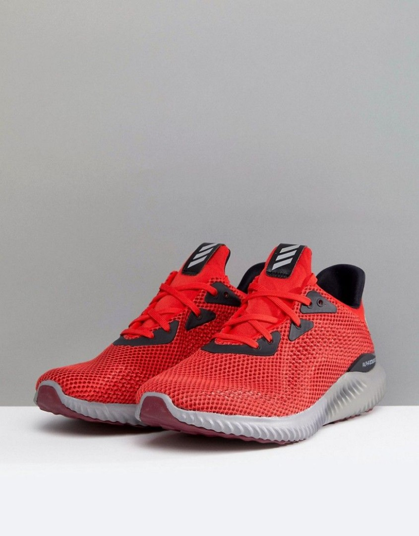 new concept 57bd5 c2bba PRICE REDUCED Adidas Alphabounce 1M Core Red, Sports, Sports