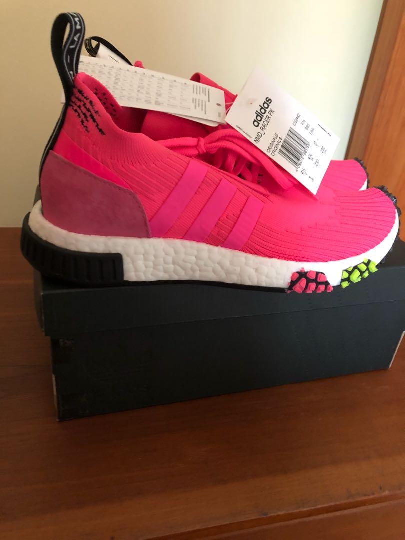 87e711d6ccc16 Adidas NMD Racer Primeknit Pink