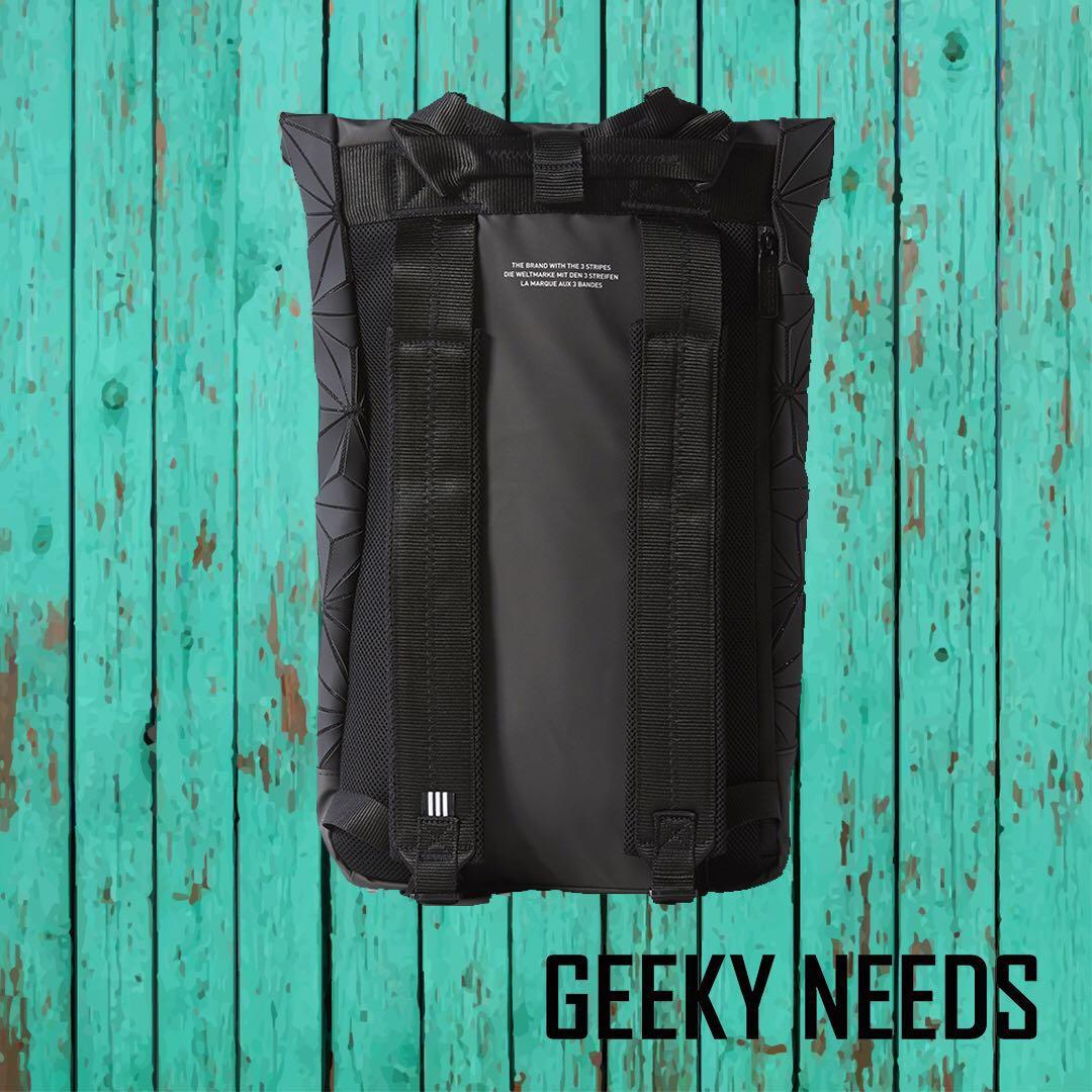80fe6f9903 Adidas Originals 3D Roll Top Backpack Black
