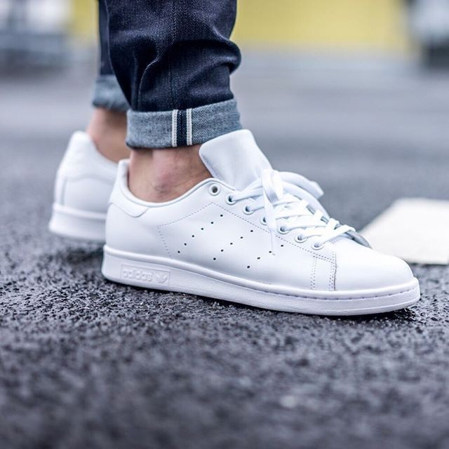 94183c645665 Adidas Stan Smith Triple White NEW
