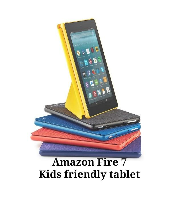 Amazon Fire 7 tablet kids friendly affordable, Mobile Phones