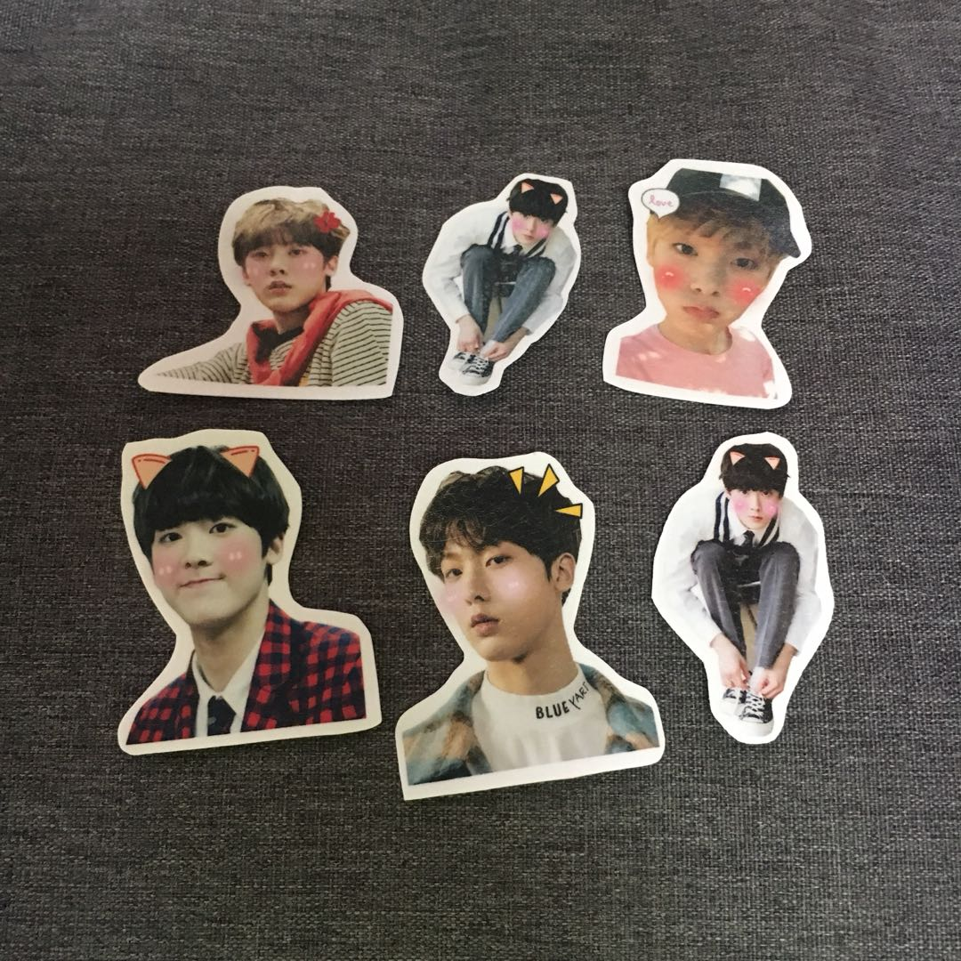 ASTRO SANHA SMALL STICKERS