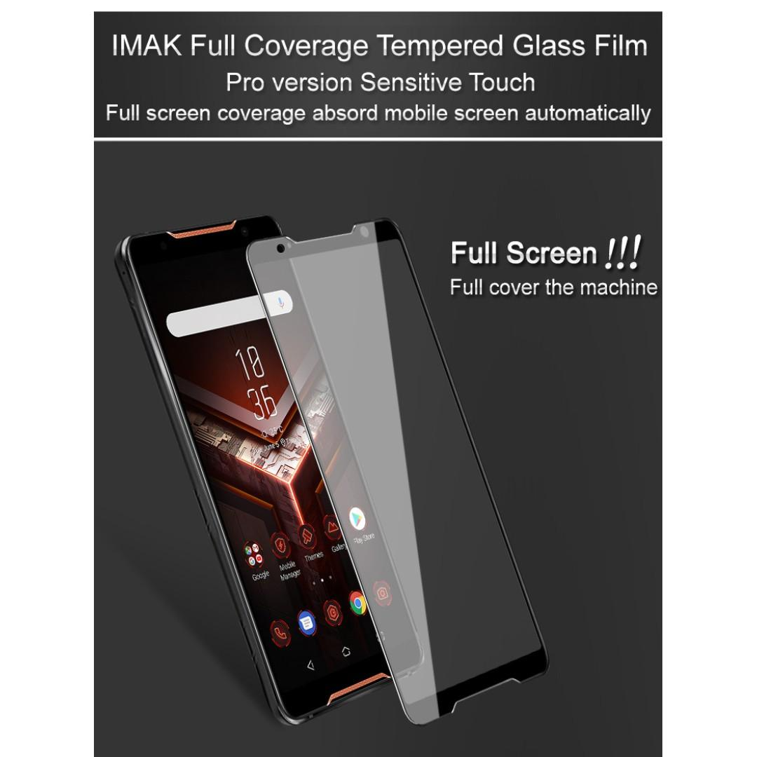 Asus ROG Phone Tempered Glass Screen Protector TGSP, Mobile