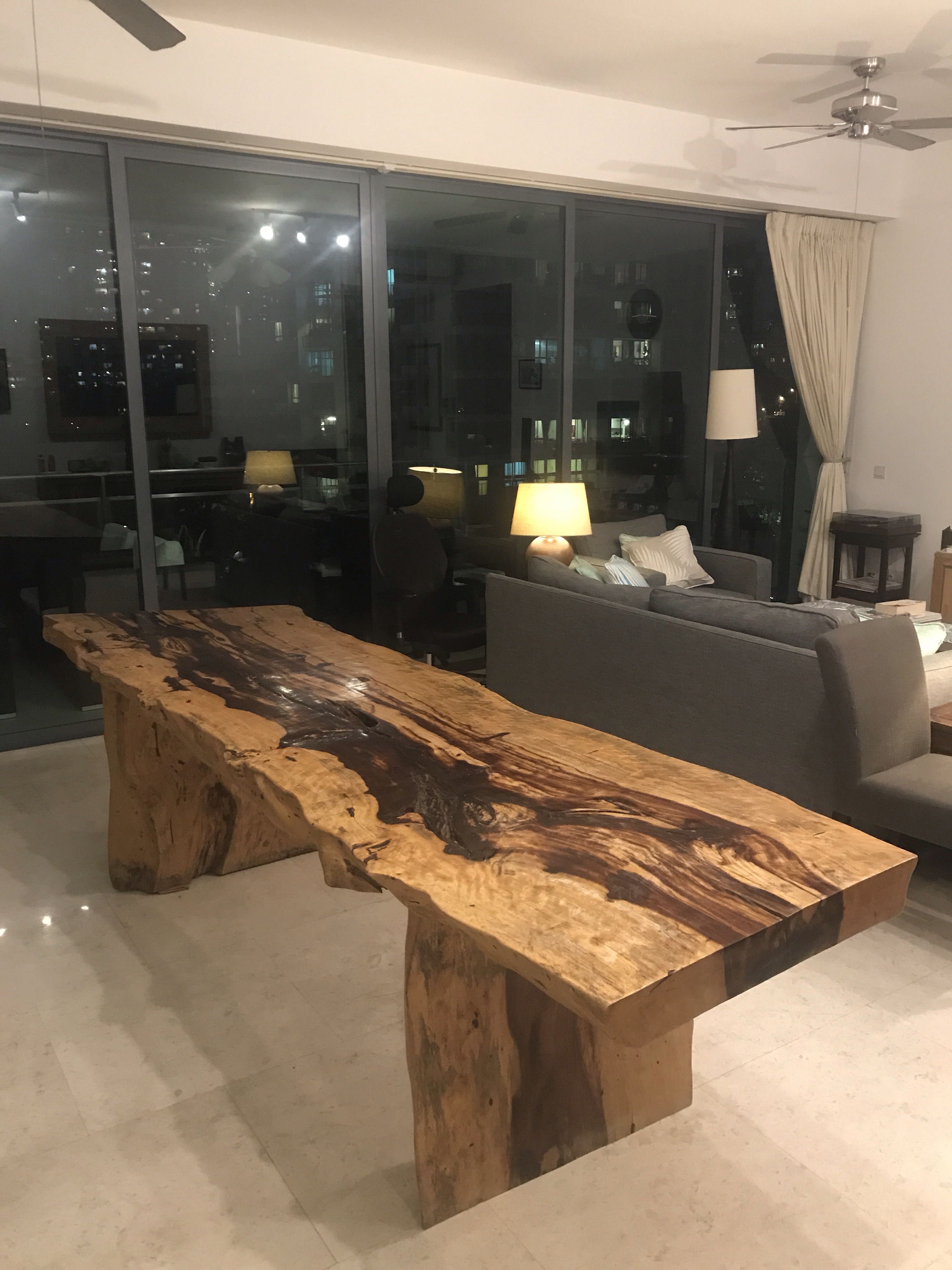 Superieur Beautiful Large Balinese Dining Table, Furniture, Tables U0026 Chairs On  Carousell