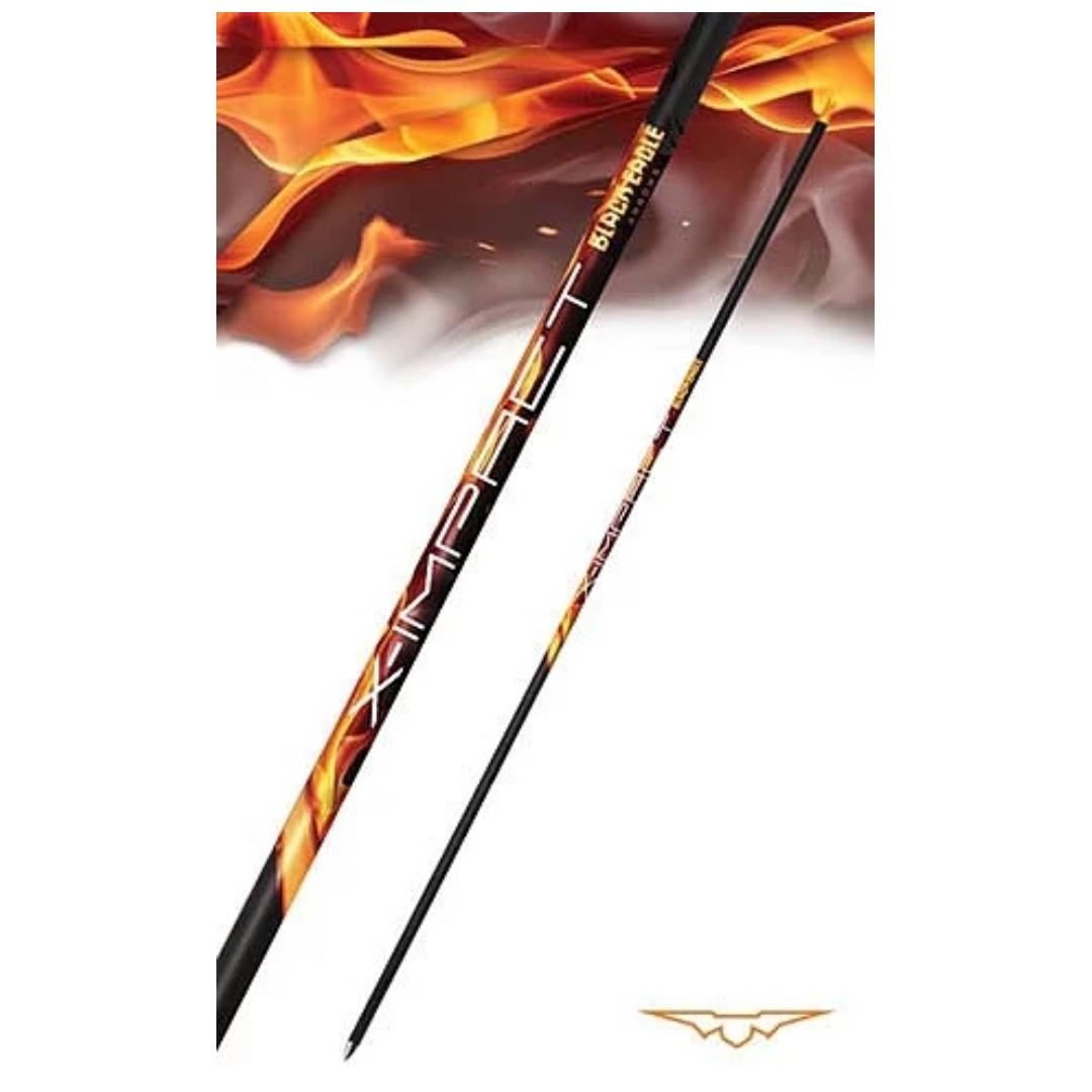 [BNIB] Black Eagle Arrows for Recurve and Compound Bow - X-Impact (Shaft Only)