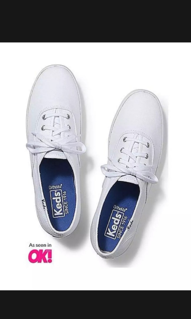 4b1e1557d2c96 BNIB Keds Champion Originals White Canvas Sneaker