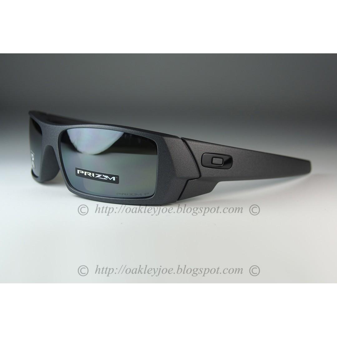 d4a1abeb1d BNIB Oakley Gascan steel + prizm black polarized OO9014-3560 ...