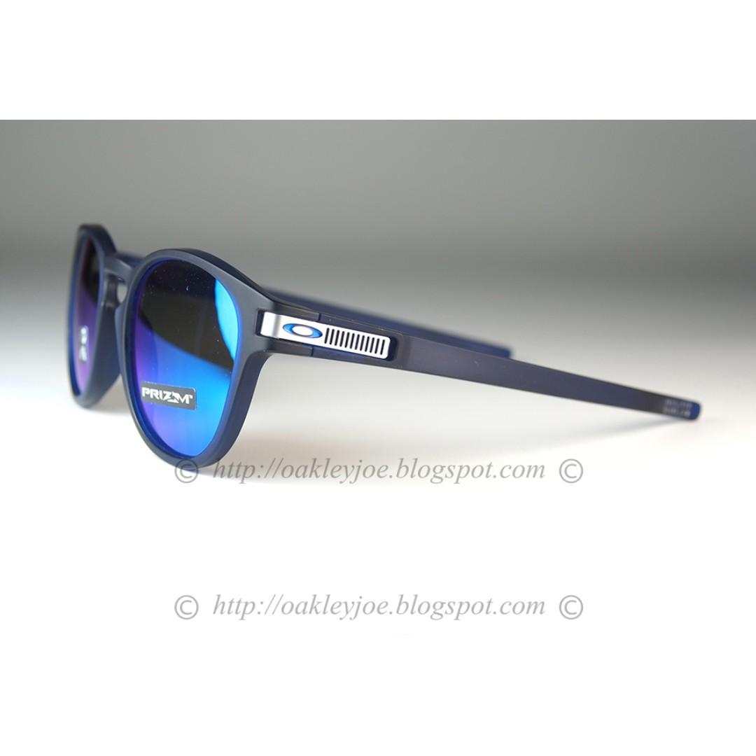 8371ace1b05 BNIB Oakley Latch Asian Fit Grid Collection translucent blue + prizm ...