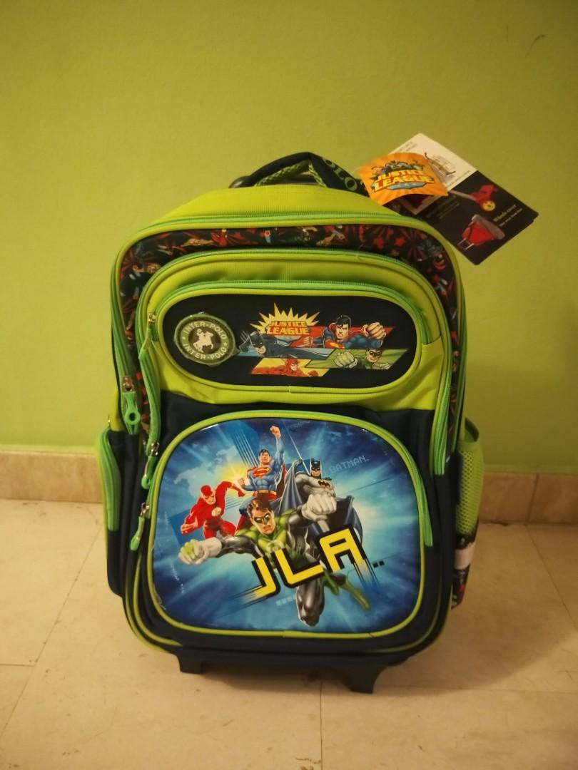 BNWT justice league school bag