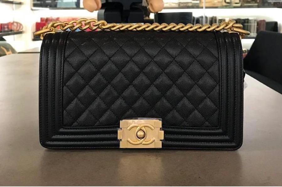 f5f9c0fcb0ec Brand New Chanel Boy, Women's Fashion, Bags & Wallets, Handbags on ...