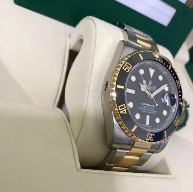 f34ad03a2ed1d Brand new Rolex Submariner Two Tone 116613LN for sale, Luxury ...