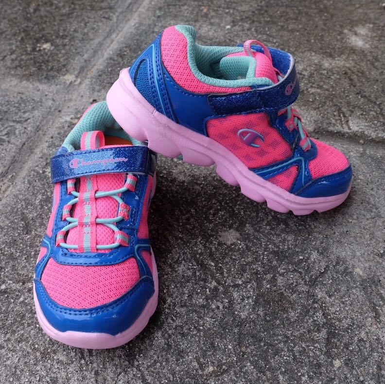 a7cf053892ff0 Champion pink rubber shoes for Girls US 7 1 2