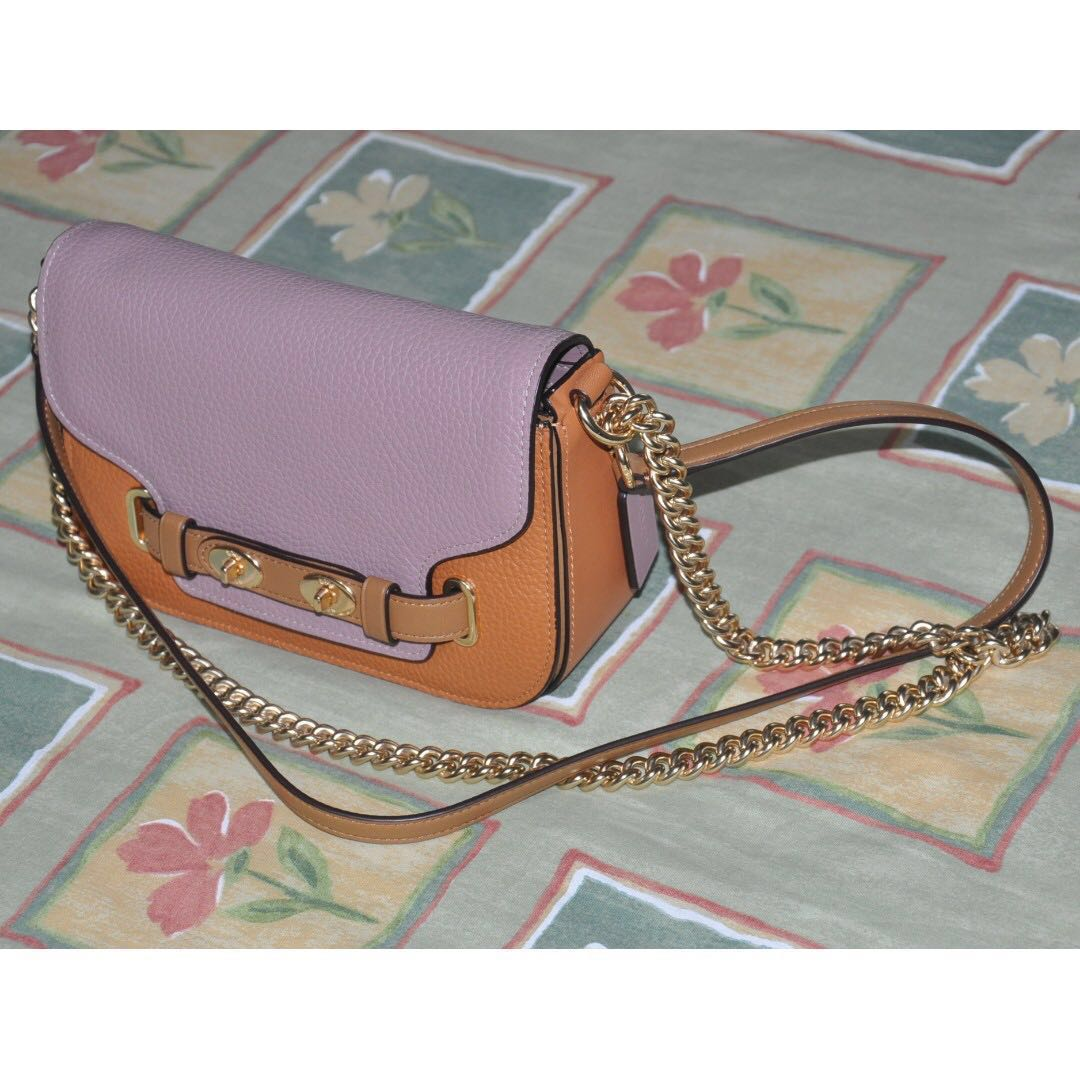 9882bc57b Repriced COACH F30554 Blake Crossbody 20 in Colorblock, Women's ...
