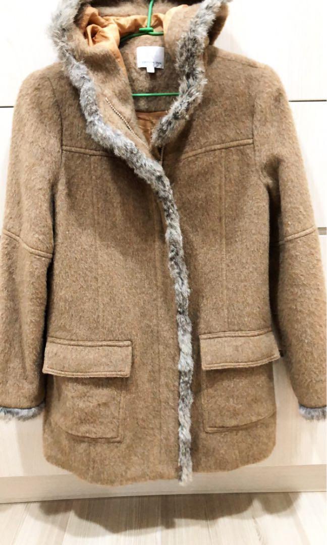 Cotton inn毛料大衣