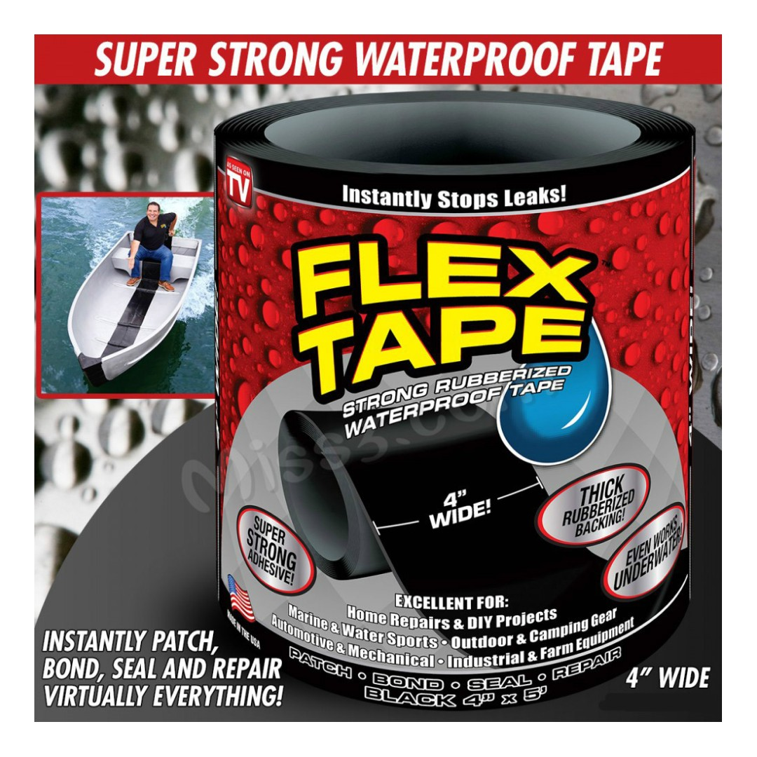 Strong Rubberized Waterproof Tape Water Pipe Repairing Tape Super Strong Adhesiv