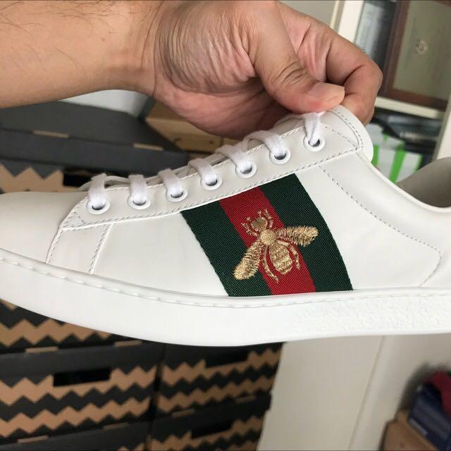 Gucci Ace Sneakers Size 5, Men's