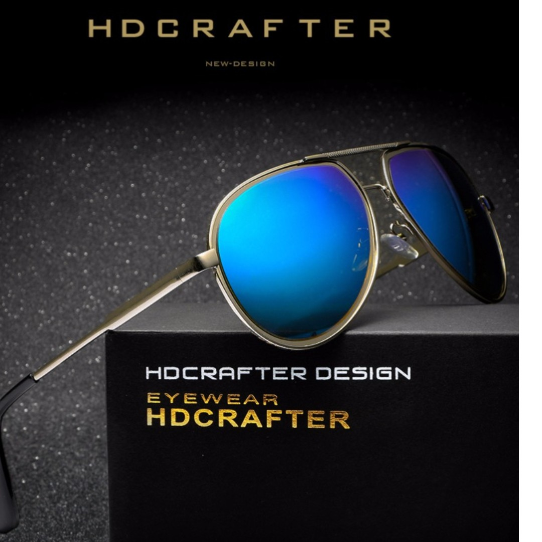 ead52c21d2 HDCRAFTER New Classic Polarize Unisex Summer Sunglasses Alloy Legs ...