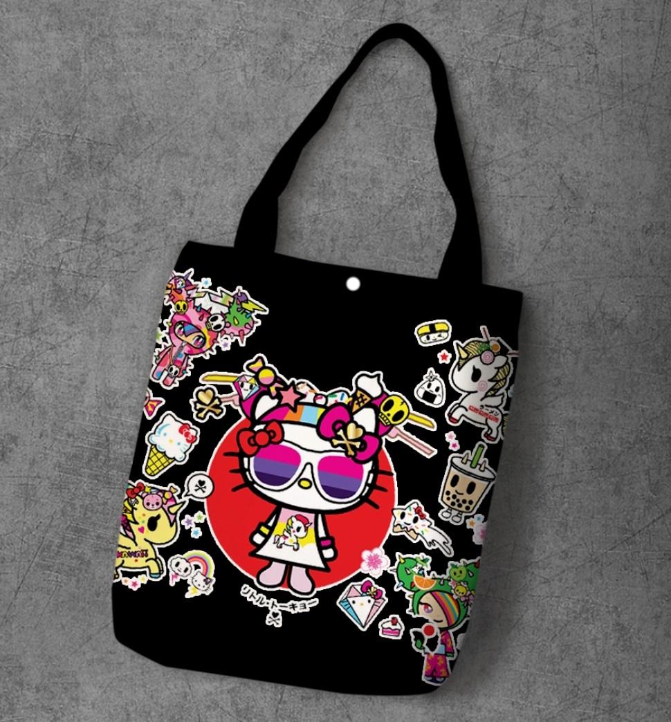 0b7e4d829 Hello Kitty Tokidoki Tote Bag, Women's Fashion, Bags & Wallets ...