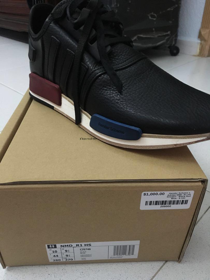 23d1c87cc Hender Scheme x adidas NMD R1 OG Black