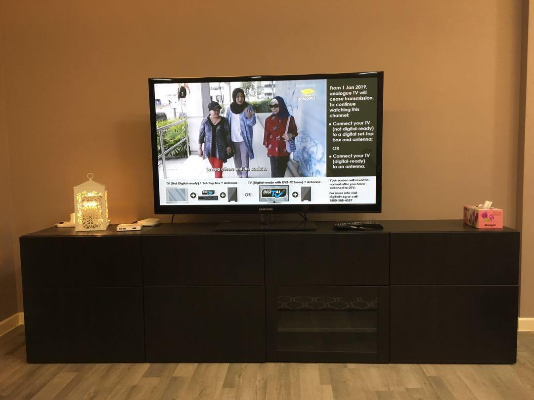 Ikea Besta Tv Console Furniture Others On Carousell