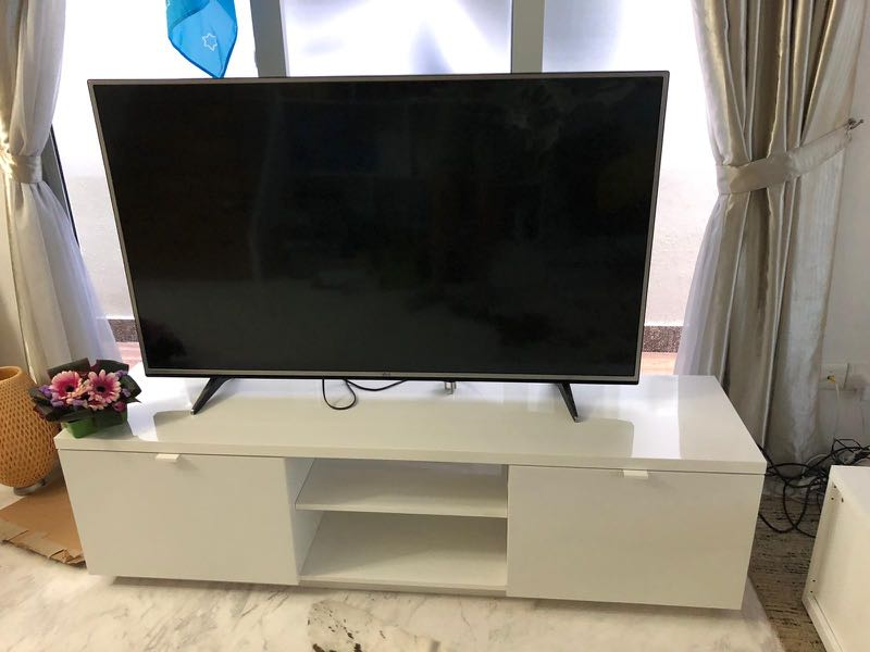 Super IKEA TV Console BYAS, Furniture, Shelves & Drawers on Carousell WR-38