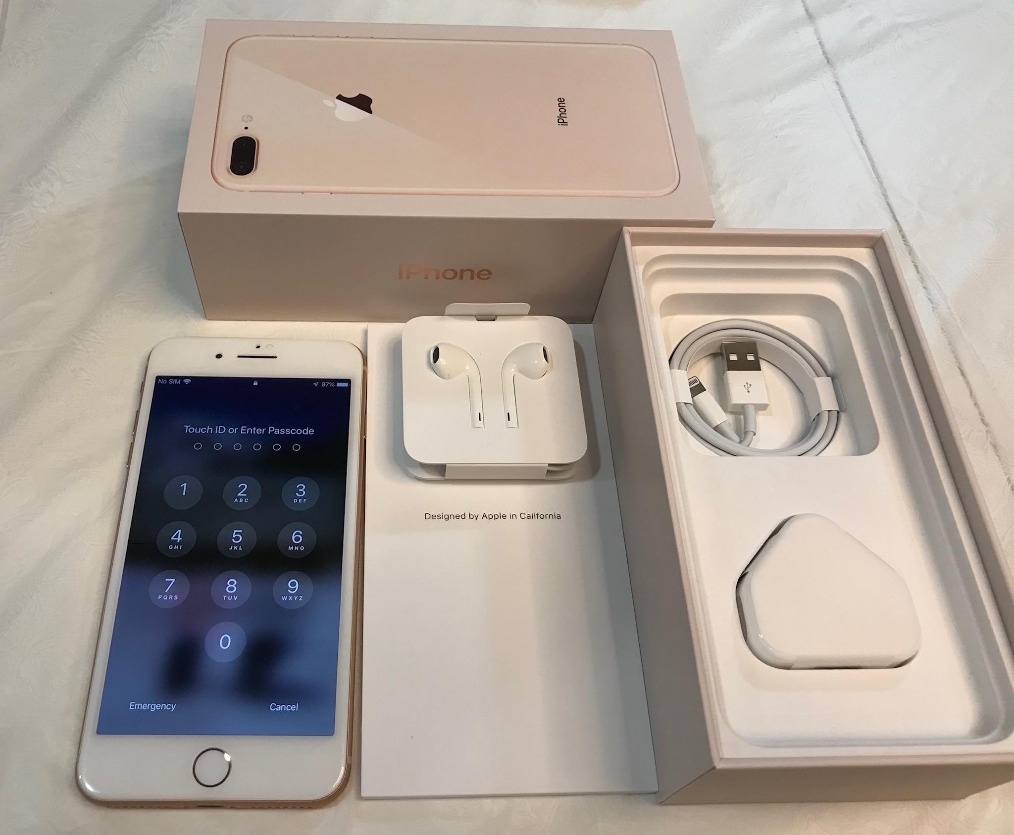 c48e87694344 IPhone 8 Plus 64GB Rose Gold Very good condition, Mobile Phones ...