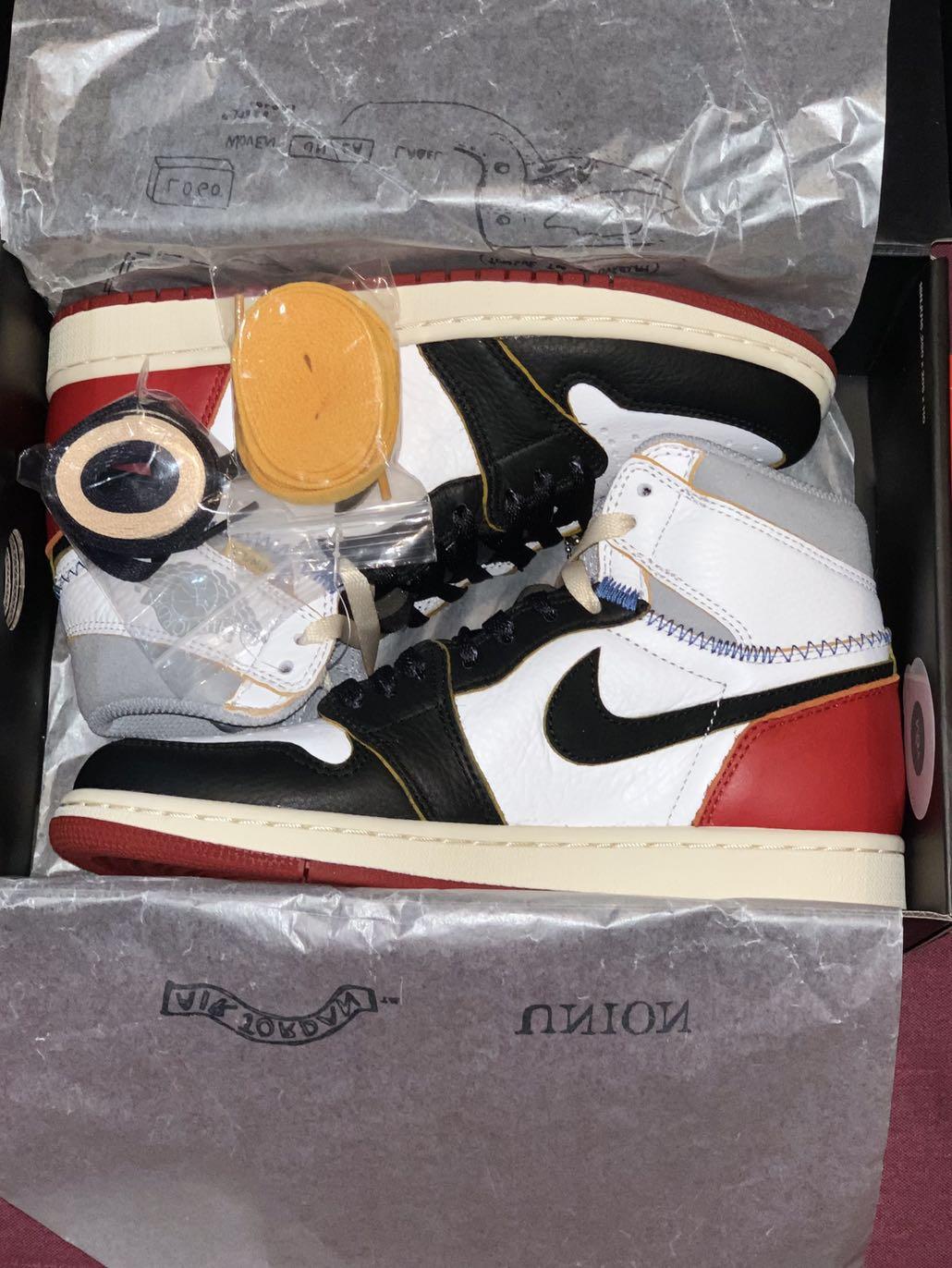 Jordan 1 UNLA Black Toe Size US6.5 3cd600fd5