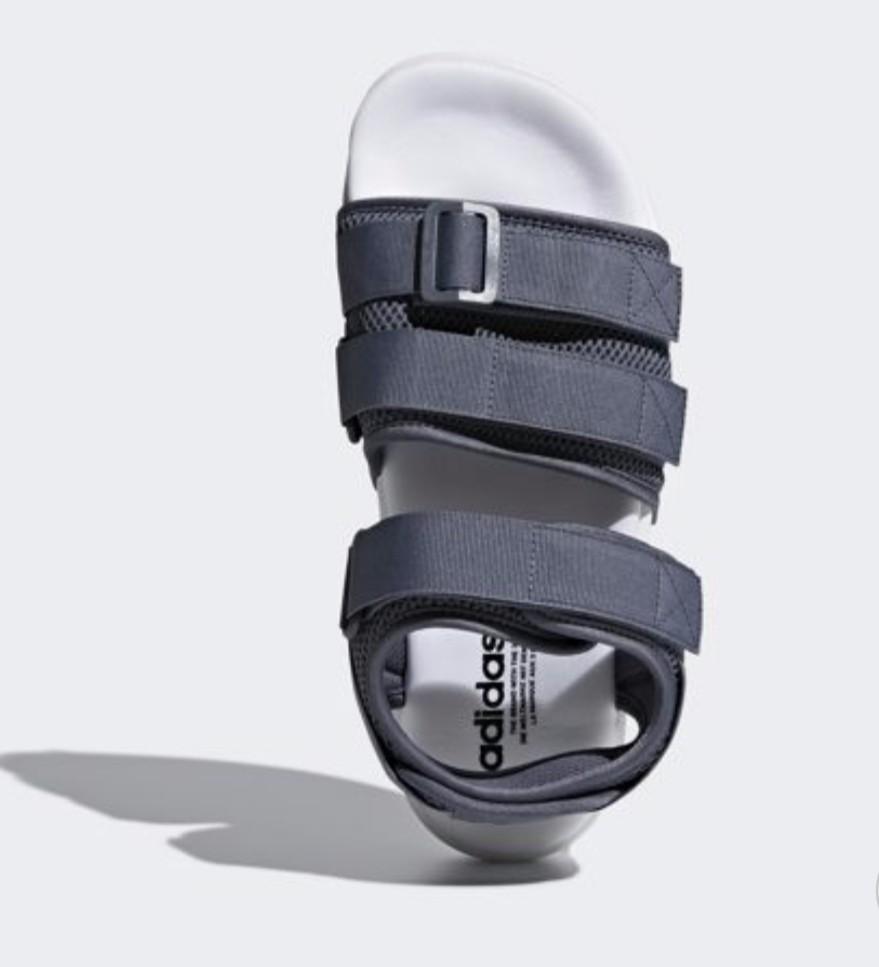 Korea Adidas Adilette 2.0 Unisex Grey Sandal CQ2672 72b46bae2
