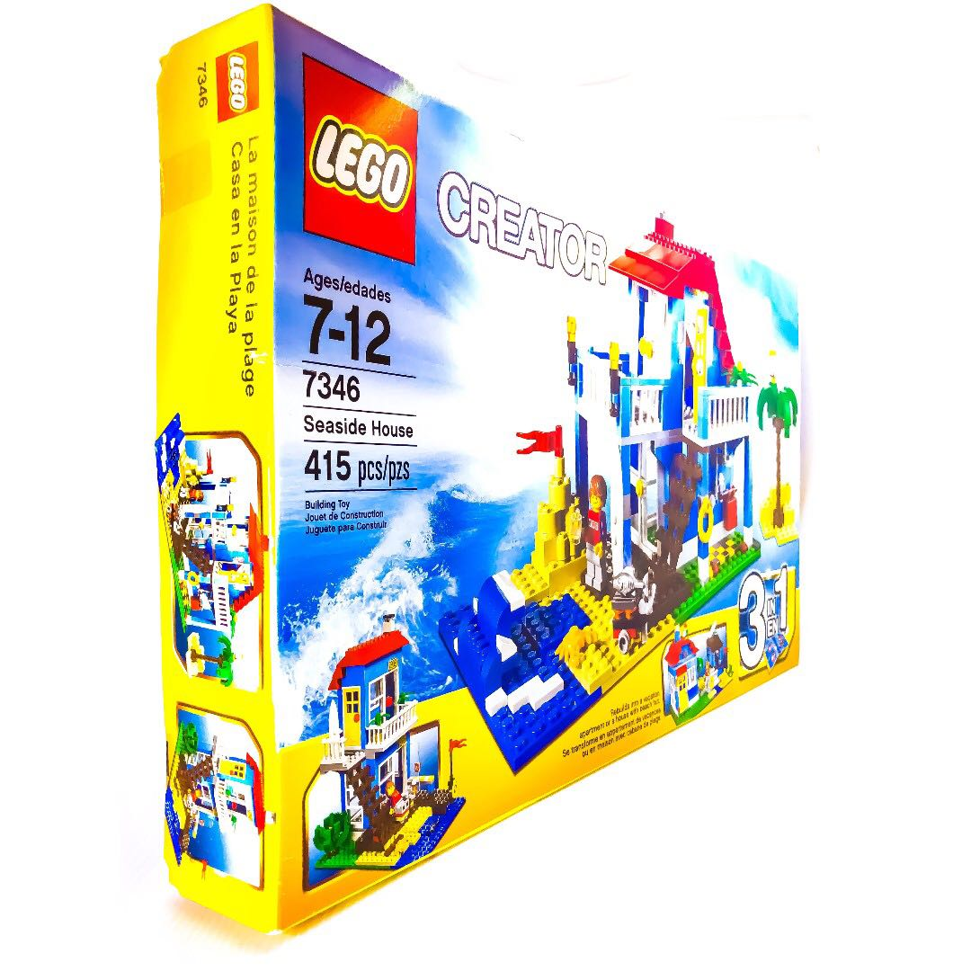Lego Creator Seaside House 7346 New In Factory Sealed Box Toys