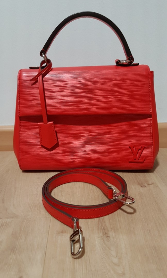 320918d996ab LNIB Louis Vuitton Cluny Epi Leather Bag - BB - Coquelicot - LV ...