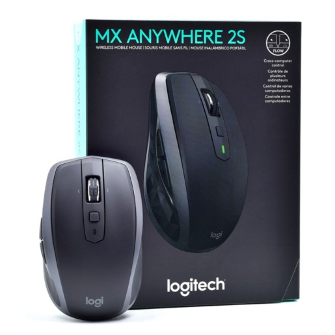 Logitech MX Anywhere 2S Wireless Mouse Gaming BNIB Promo