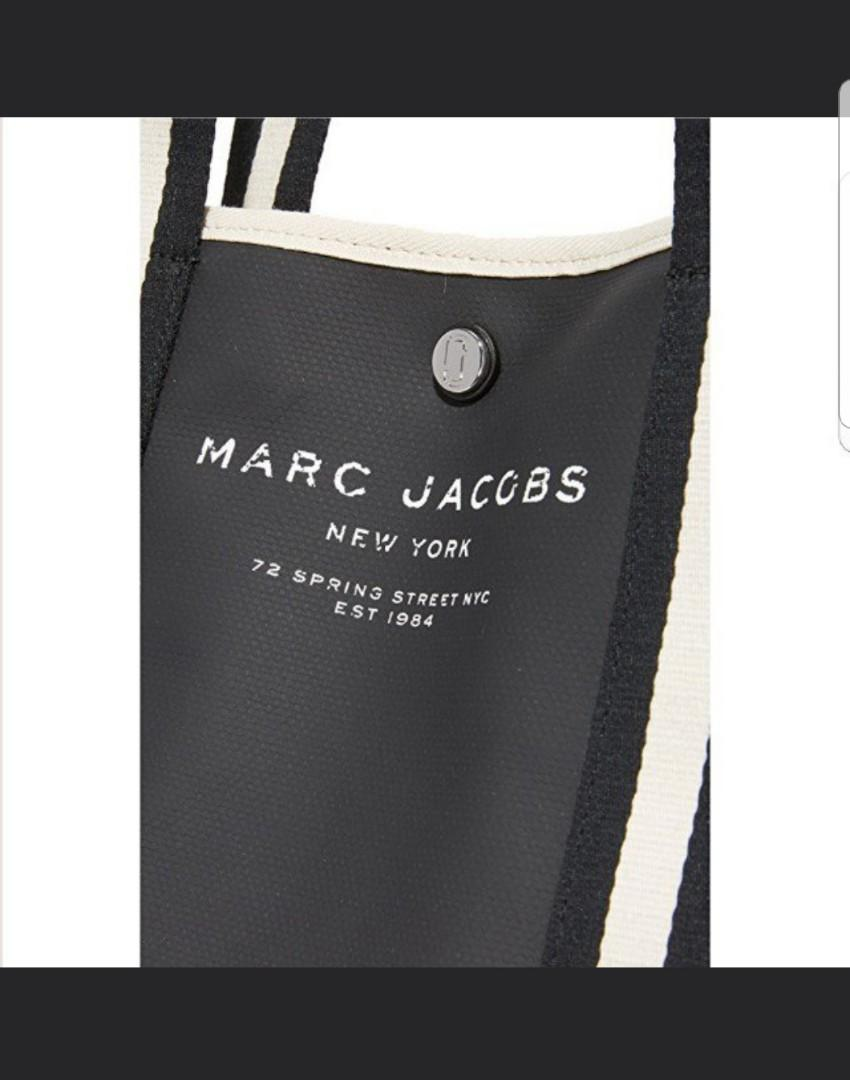 Marc Jacob 帆布tote bag