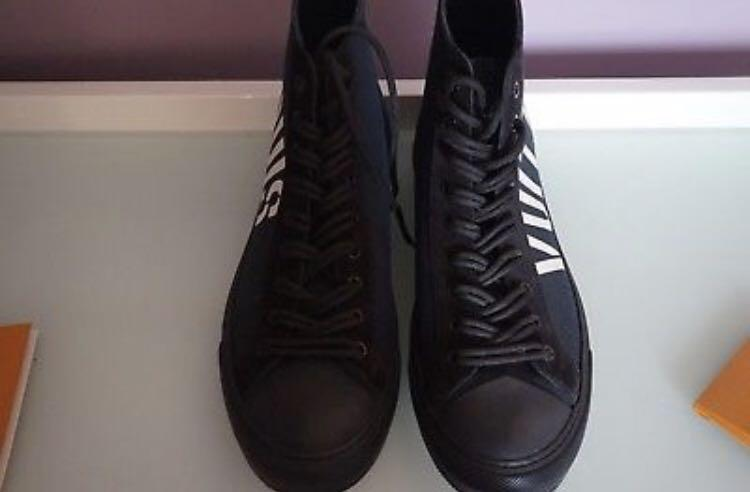 """MENS LOUIS VUITTON X FRAGMENT """"TATTOO SNEAKER BOOT"""" SHOES LV7......8US"""