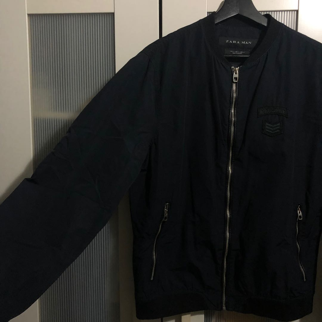 7e0be71ab Navy Military Bomber Jacket