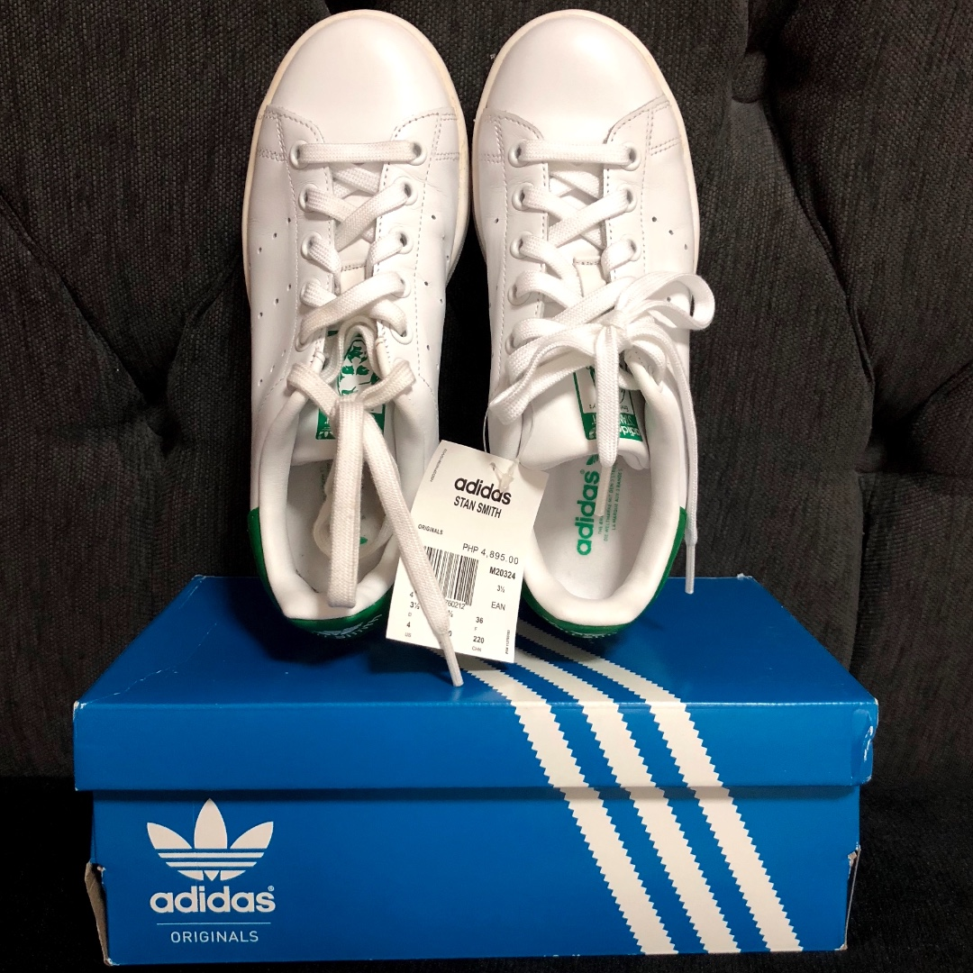 31a9f5ae554d New w  Box! 100% Guaranteed AUTHENTIC ADIDAS Iconic Stan Smith ...