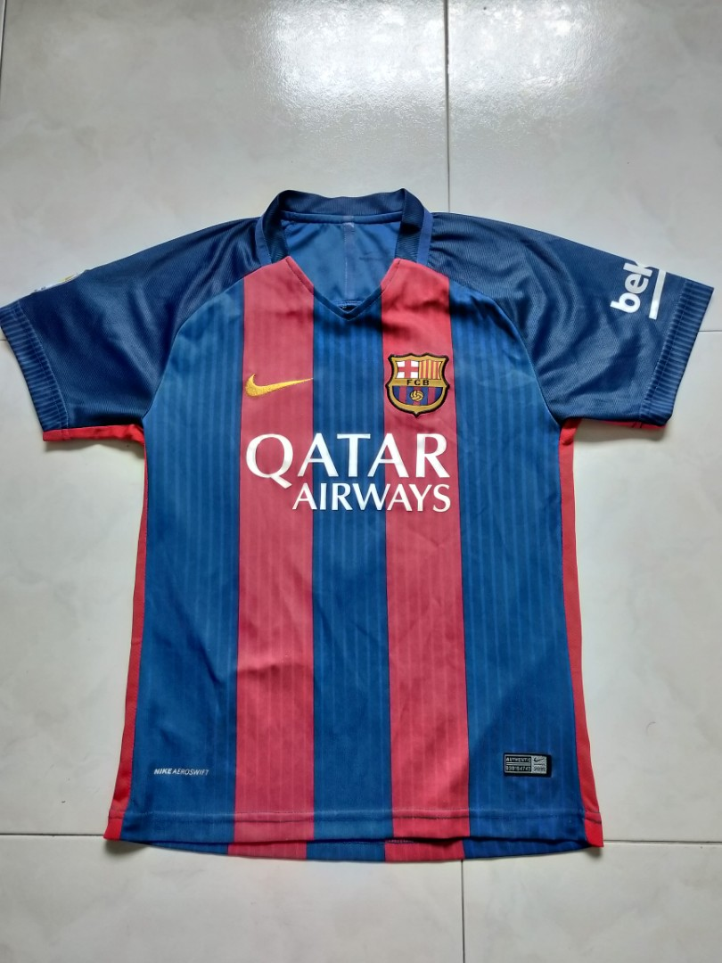 054b1ea83 Nike Barcelona 2017 2018 Home Jersey with Messi 10 print