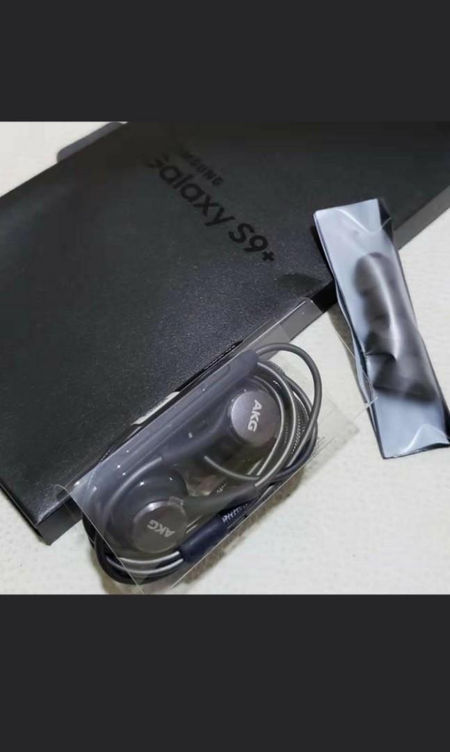Original Akg earphone from Samsung S9+原裝耳機 靚聲 samsung s8 note 8 note 9 airpods 尖東站交收 非淘宝貨