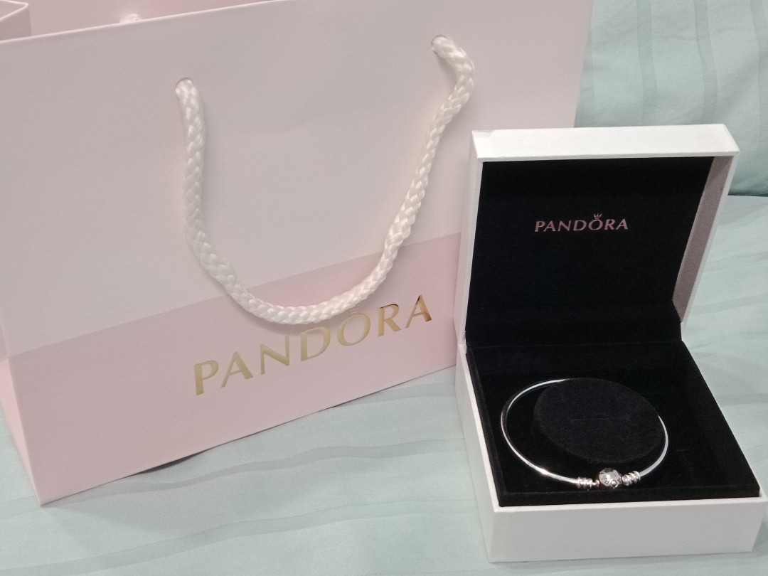 950dac40c Pandora Bangle - Moments Charm, Luxury, Accessories, Others on Carousell