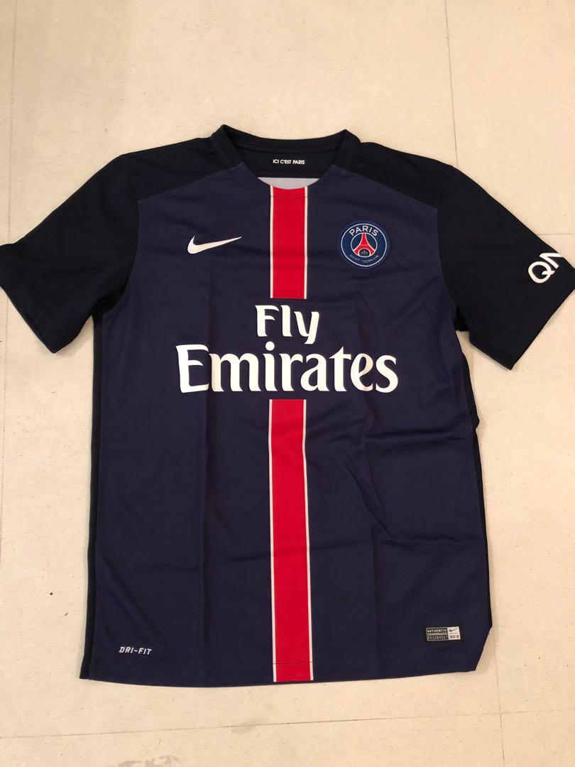 8bae0c240 Paris Saint Germain Jersey PSG Jersey