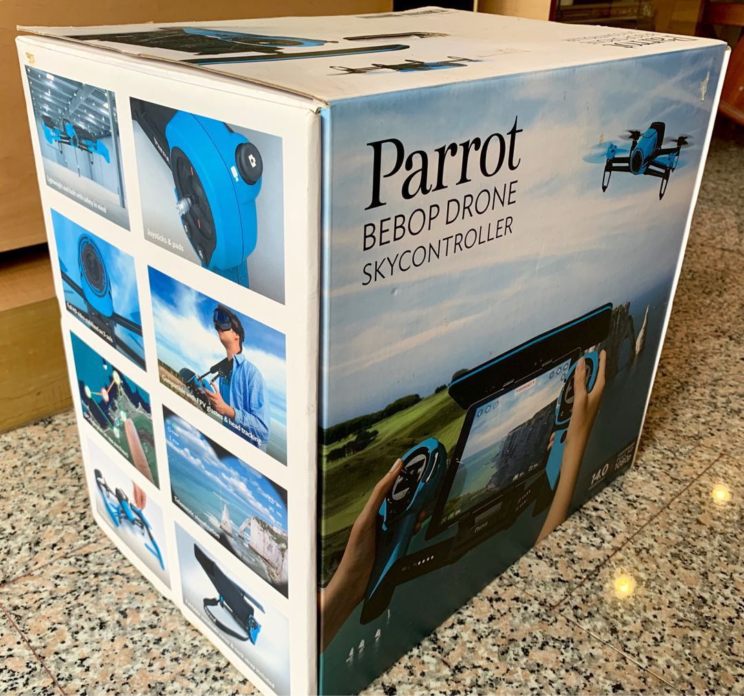 Parrot Bedok Drone and skycontroller