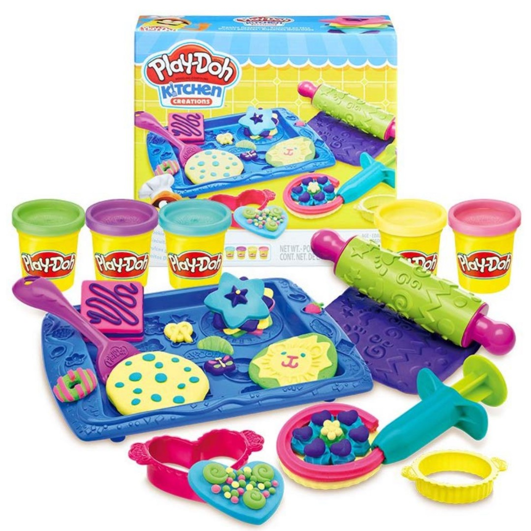 Play Doh Kitchen Creations Cookie Creations Toy Set Babies Kids