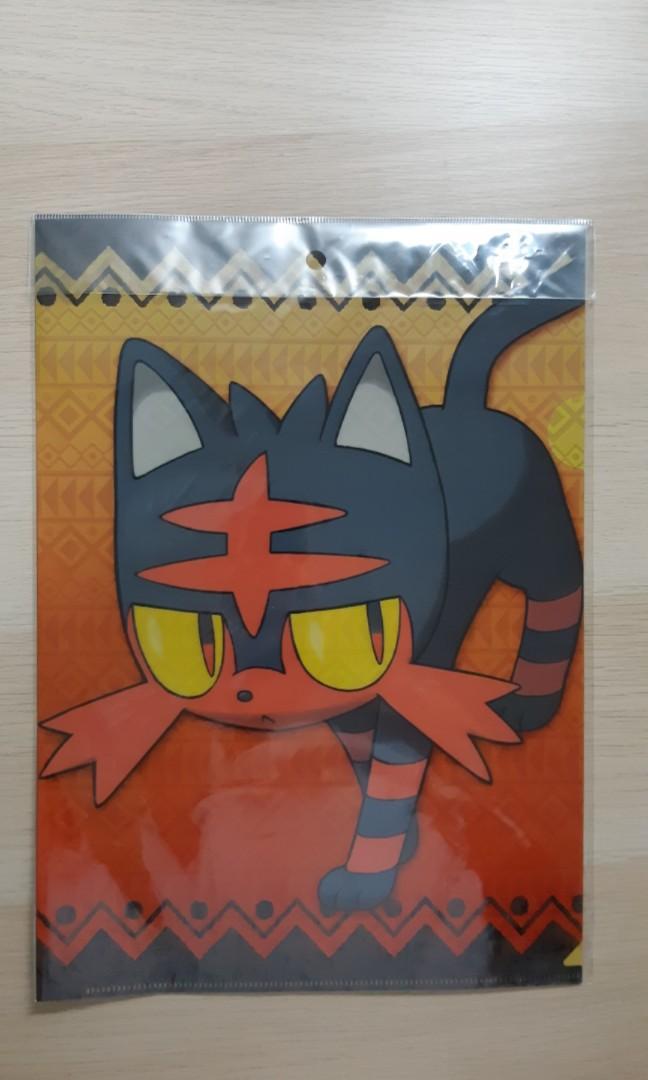 Pokemon Litten A4 File